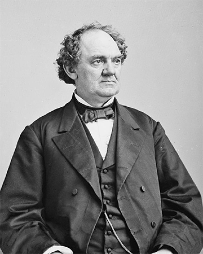 American showman P.T. Barnum.