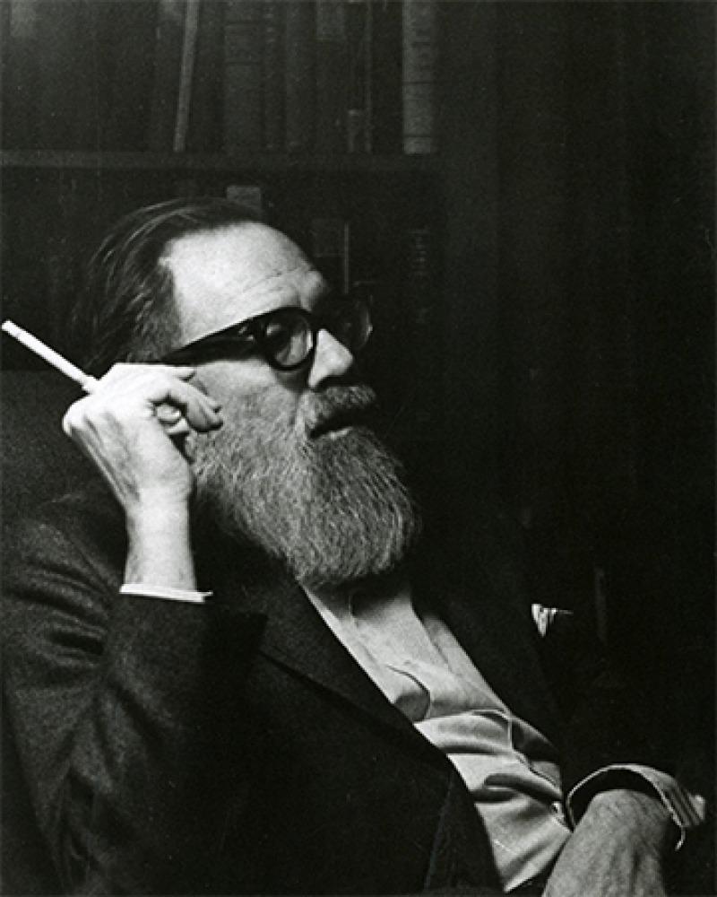 American poet John Berryman.