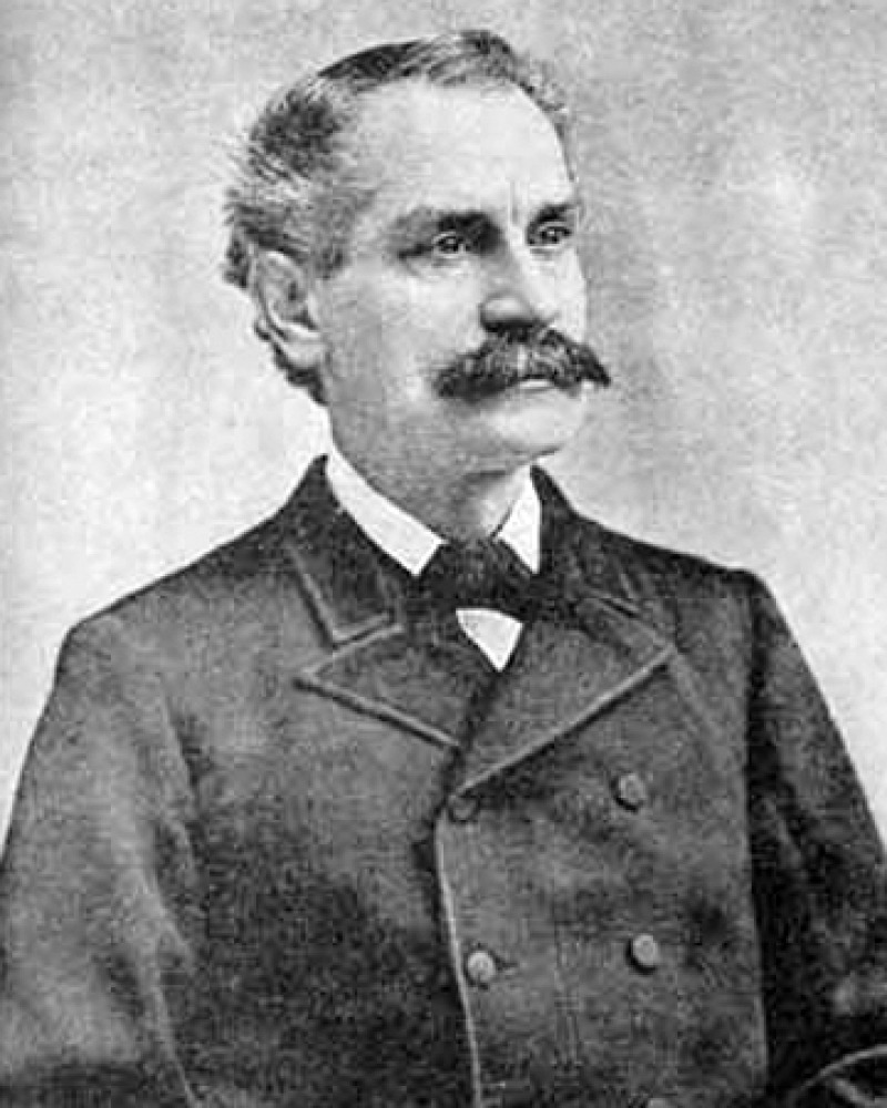 Photograph of American forger George Bidwell.
