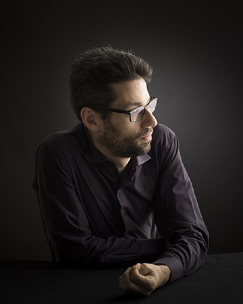 Jonathan Biss. Photograph by Benjamin Ealovega.
