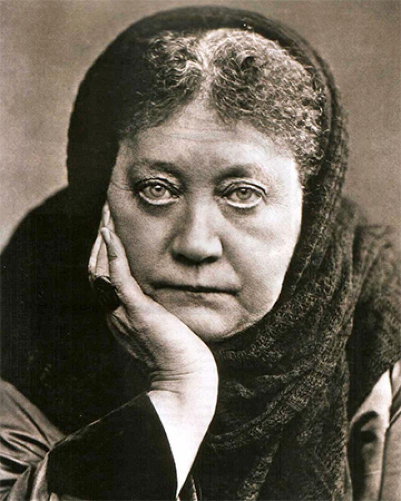 Russian spiritualist Helena Blavatsky.