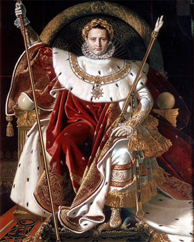French general and emperor Napoleon Bonaparte.