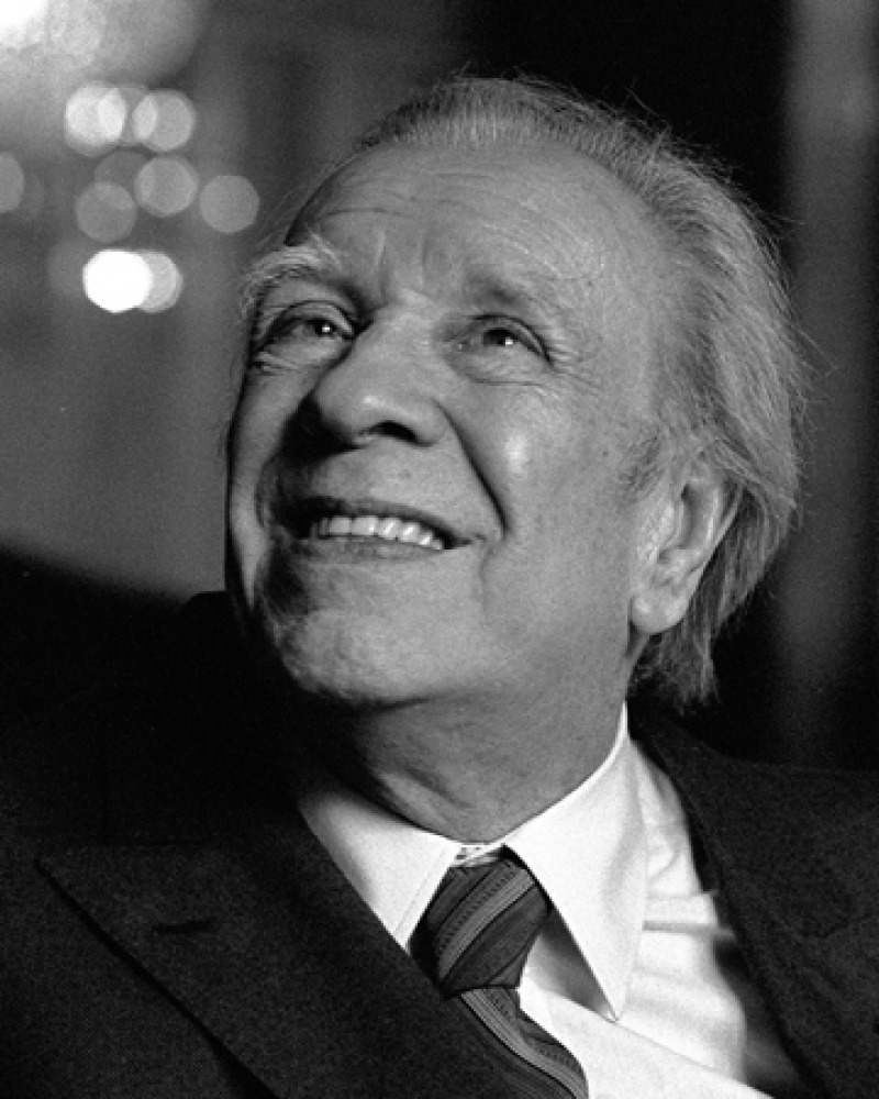 Photograph of Jorge Luis Borges