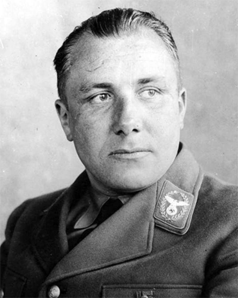 German Nazi leader Martin Bormann.
