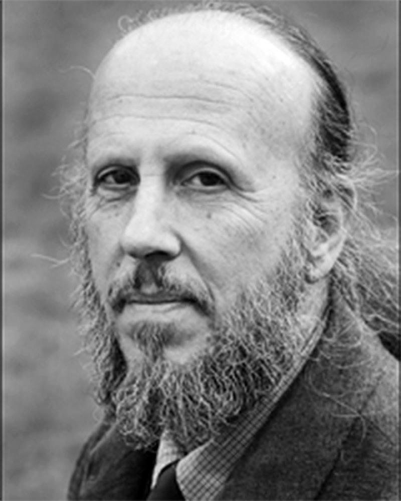 Photograph of professor and editor Robert Boyers.