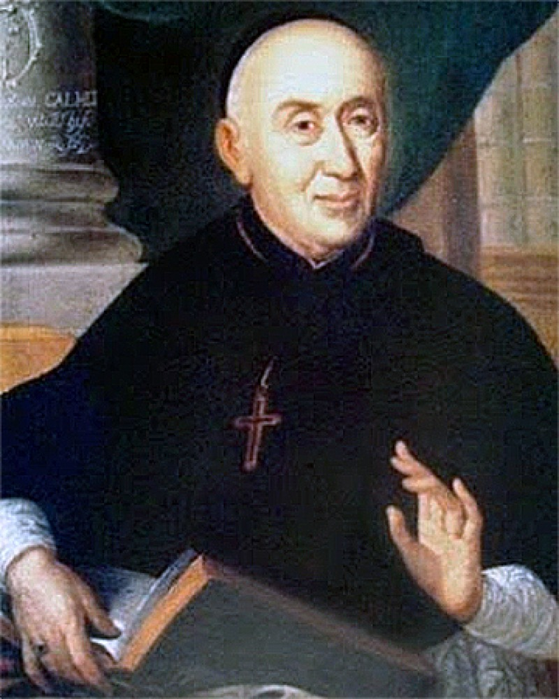 French Benedictine monk Antoine Augustin Calmet.