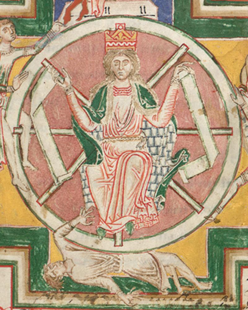 Wheel of Fortune from the Carmina Burana.