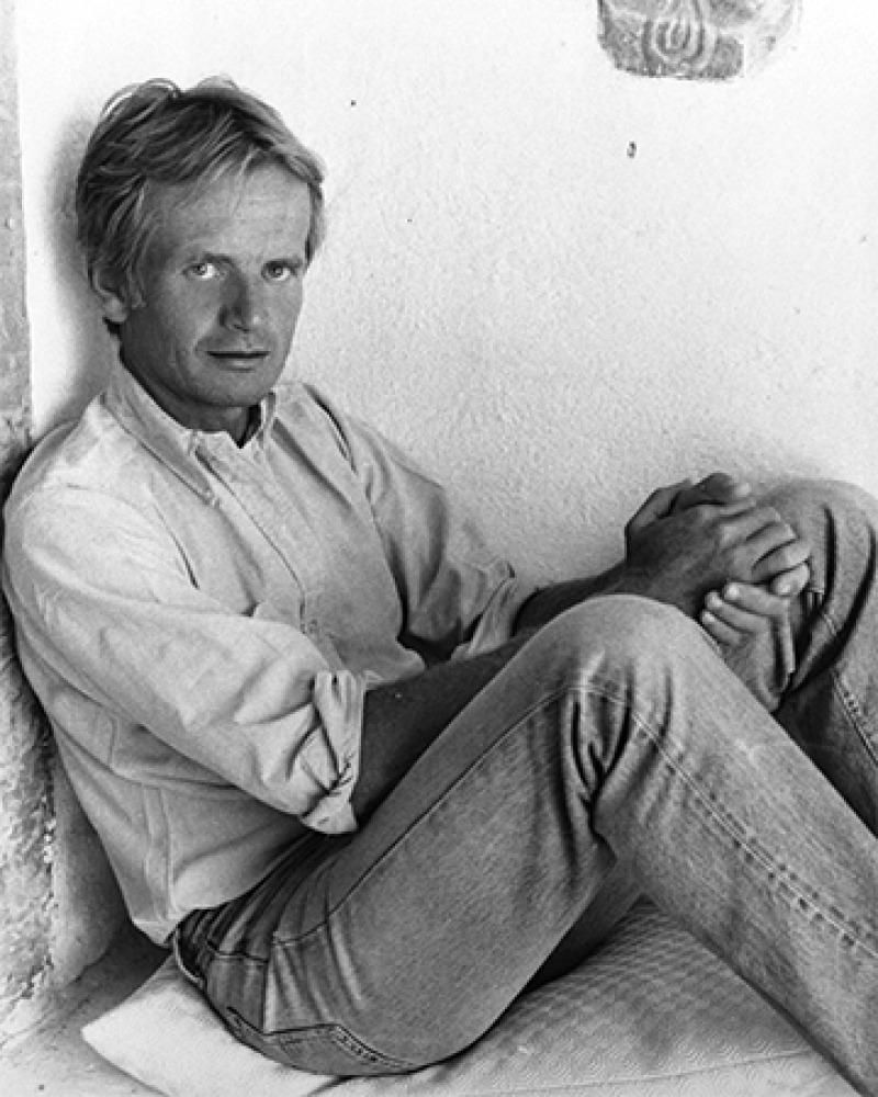 British writer Bruce Chatwin.