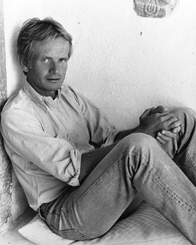 British writer Bruce Chatwin.