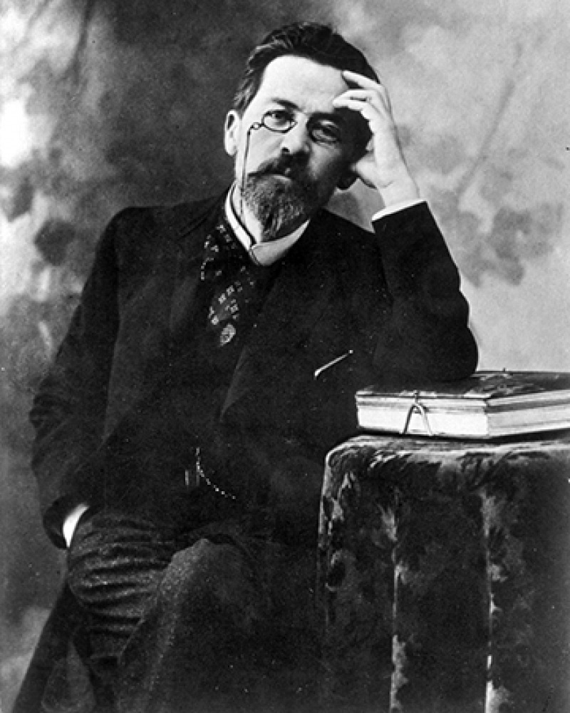 Russian author Anton Chekhov.
