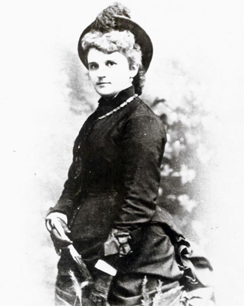 Photograph of American novelist Kate Chopin.