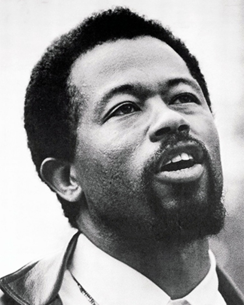 American black militant Eldridge Cleaver.