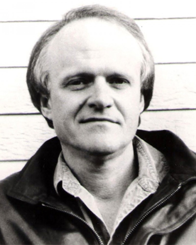Photograph of American author Dennis Covington.