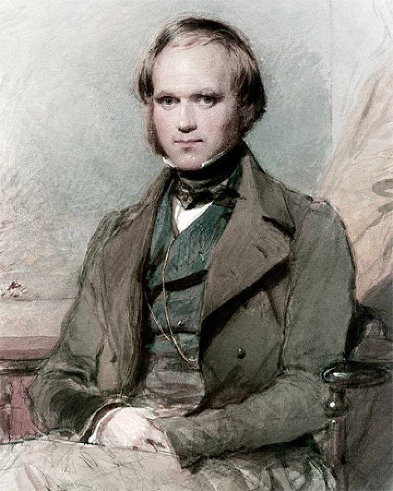 Image of English naturalist Charles Darwin.