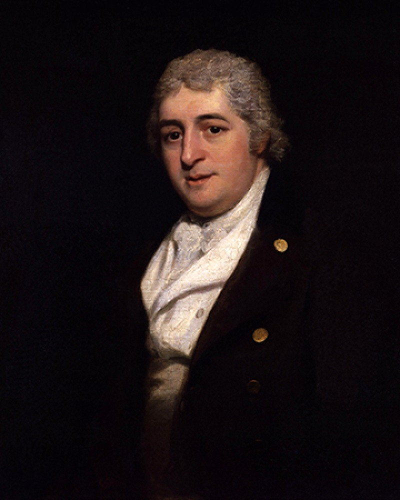British composer, author, actor and manager Charles Dibdin.