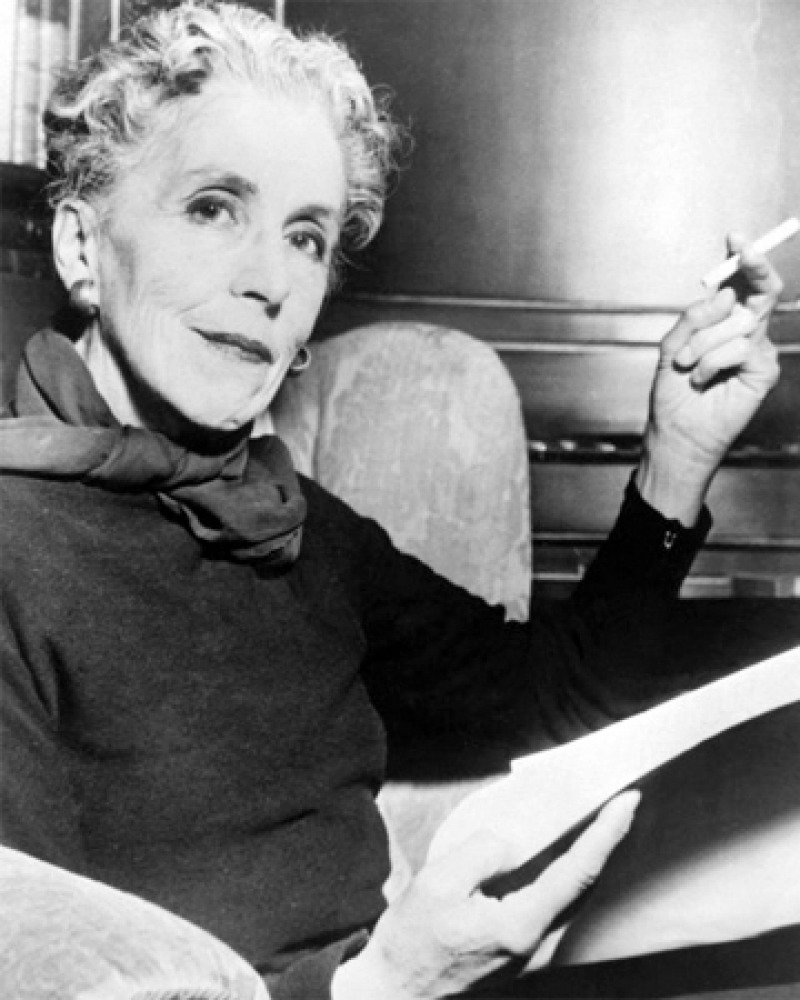 Photograph of Danish writer Isak Dinesen.