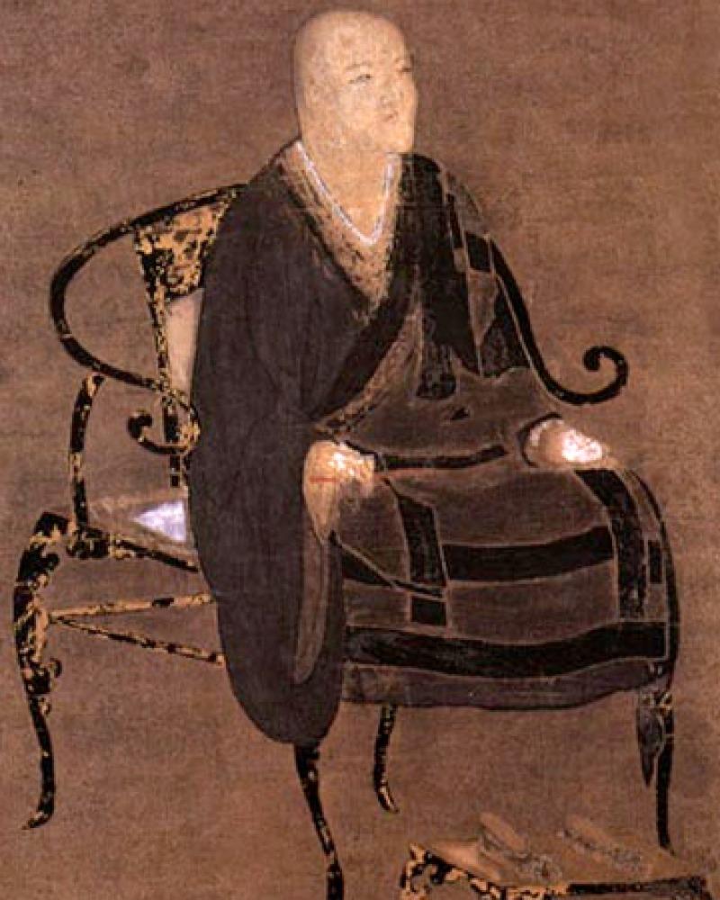 Image of Japanese Buddhist monk Dōgen.