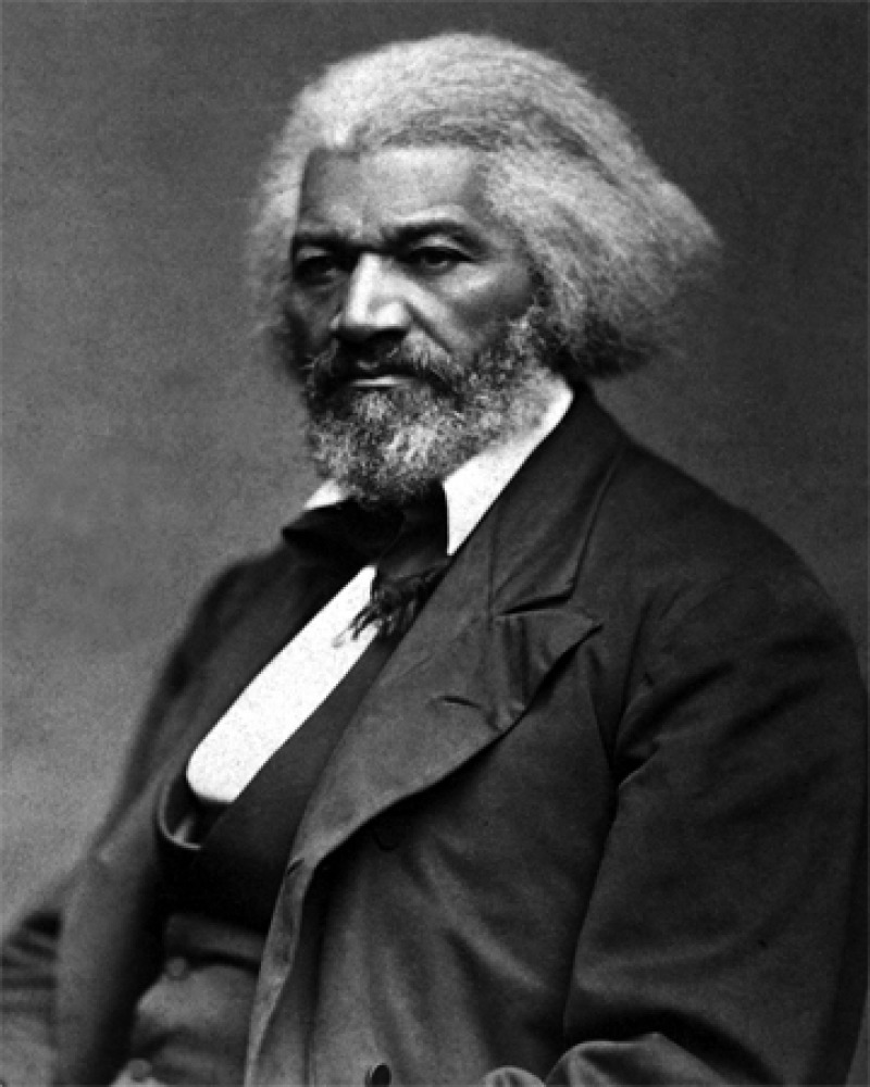 Photograph of African-American abolitionist and U.S. diplomat Frederick Douglass.