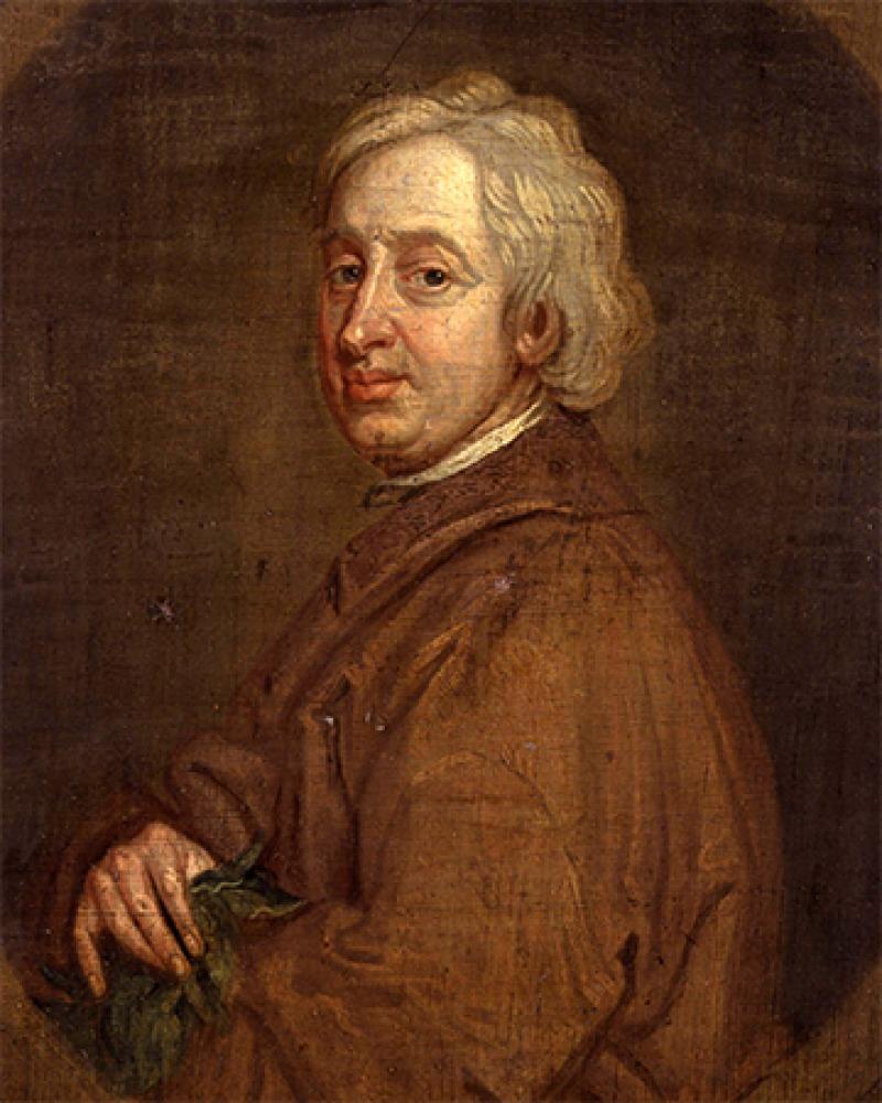 English poet, dramatist, and critic John Dryden.