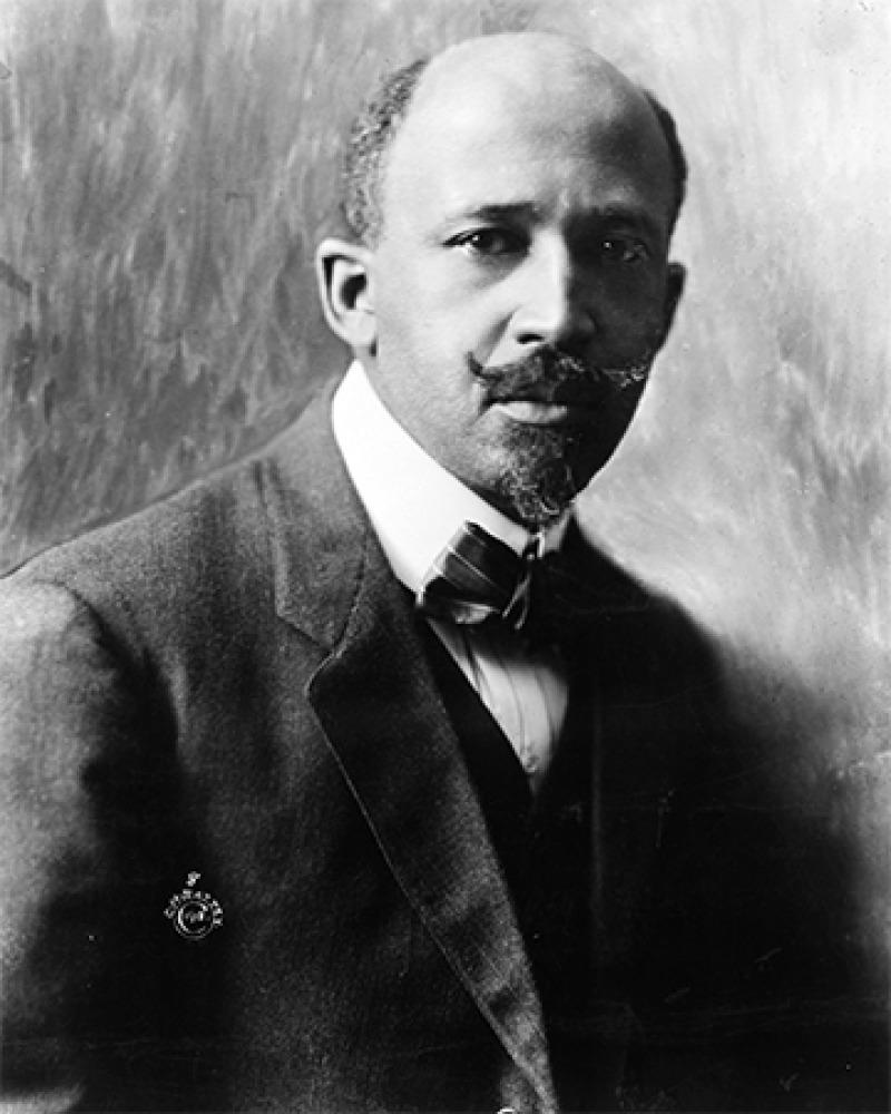 American sociologist and reformer W. E. B. Du Bois.