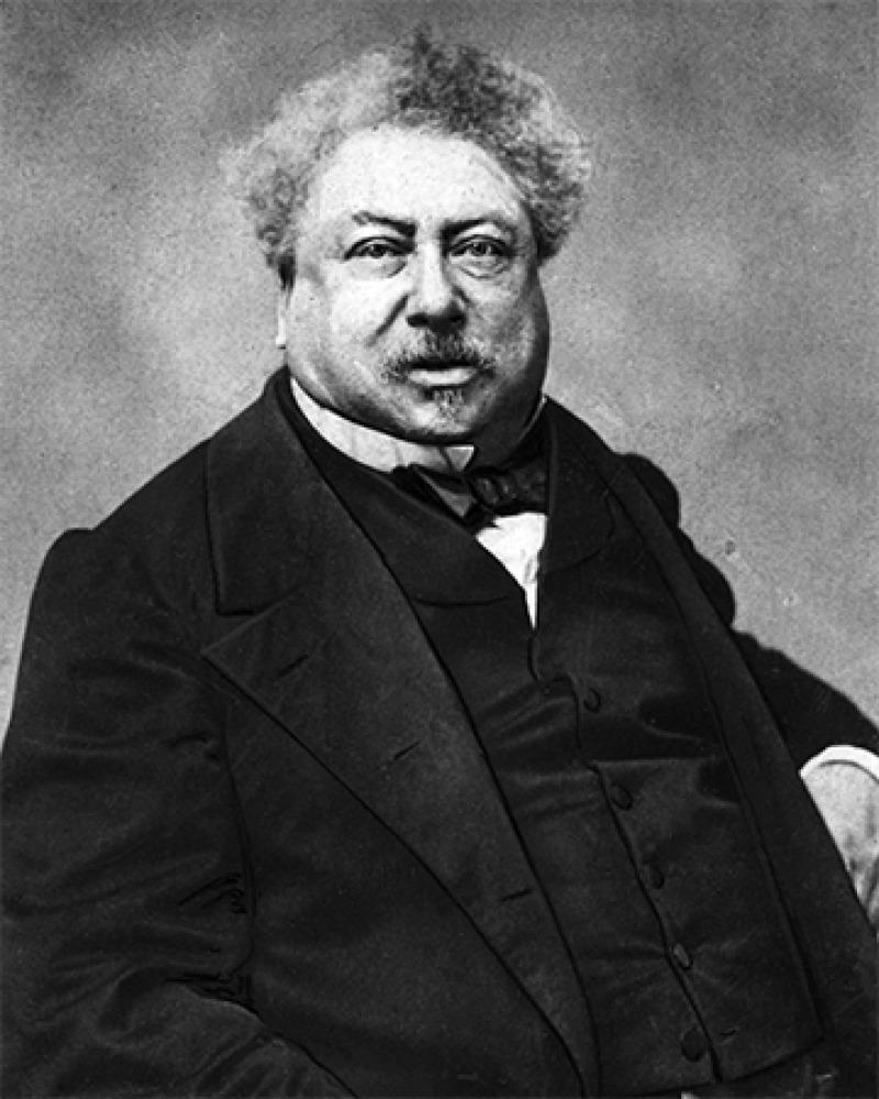 French author Alexandre Dumas.