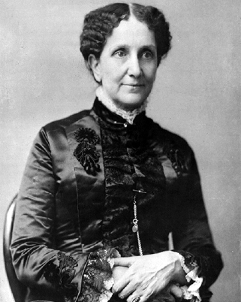 Founder of Christian Science Mary Baker Eddy.