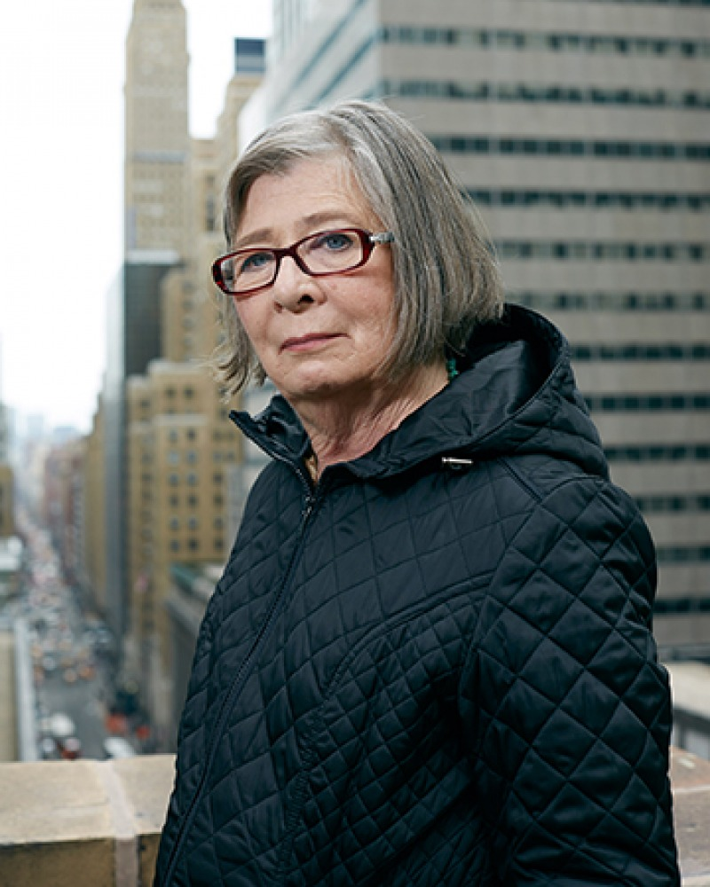 American writer and political activist Barbara Ehrenreich.
