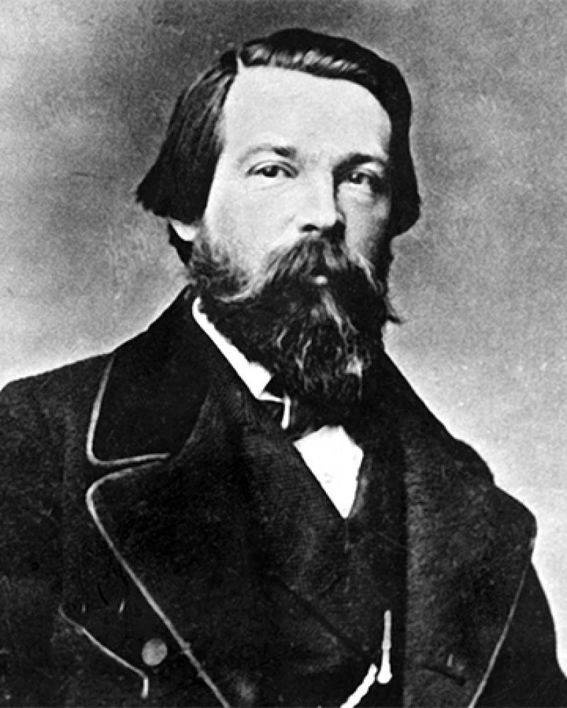 German socialist philosopher Friedrich Engels.