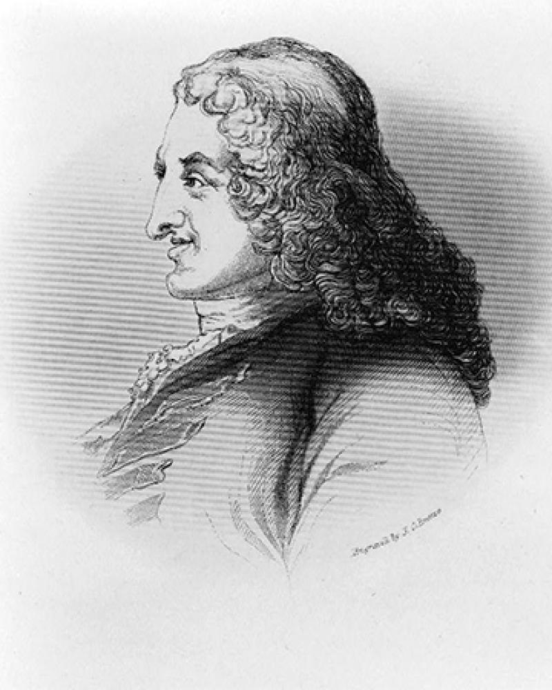 English novelist Henry Fielding.