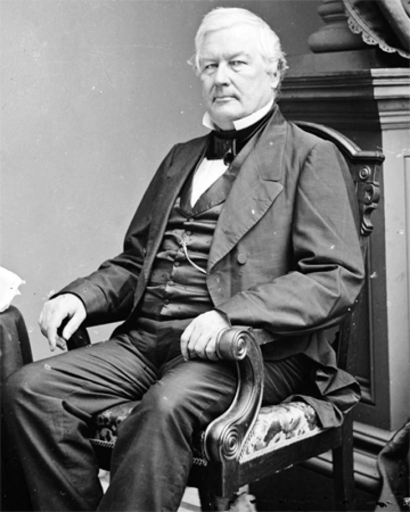 Photograph of former U.S. President Millard Fillmore.