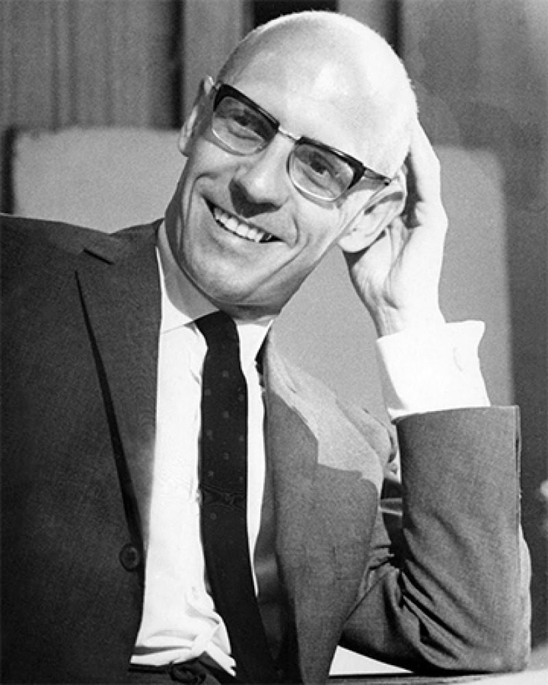 French philosopher and historian Michel Foucault.