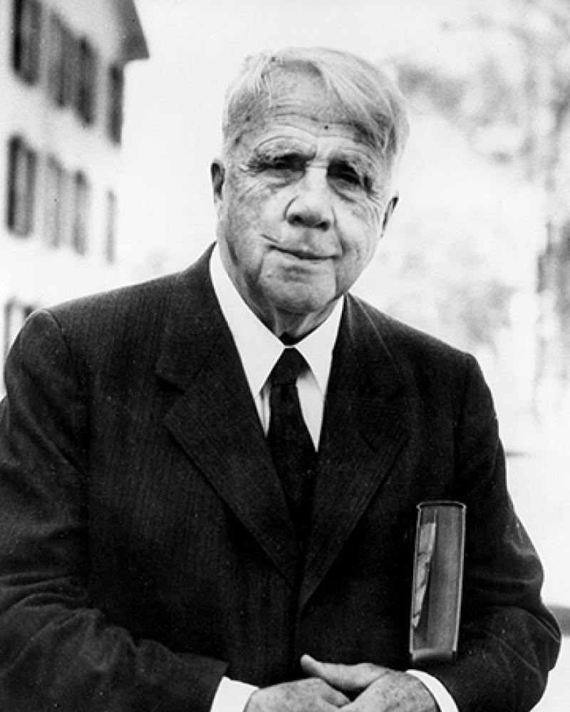 American poet Robert Frost.