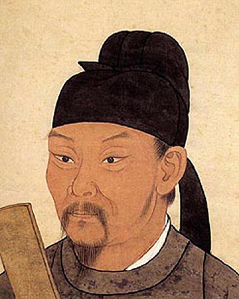 Chinese poet Du Fu.