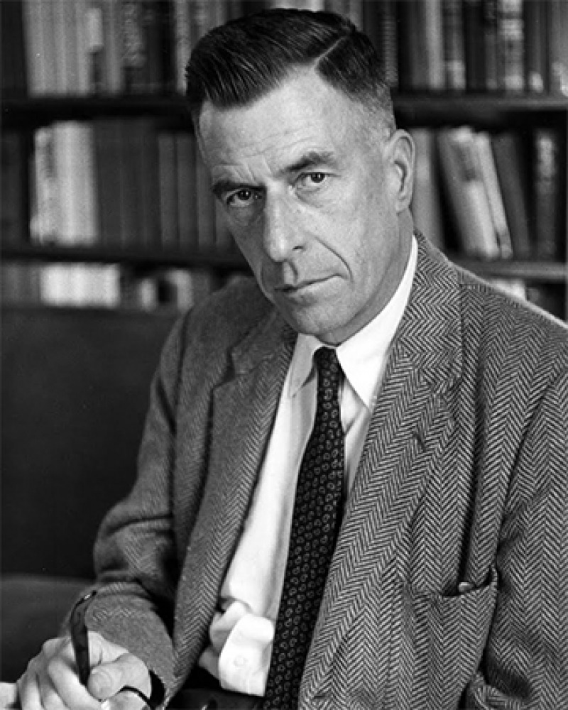 Canadian-born American economist John Kenneth Galbraith.