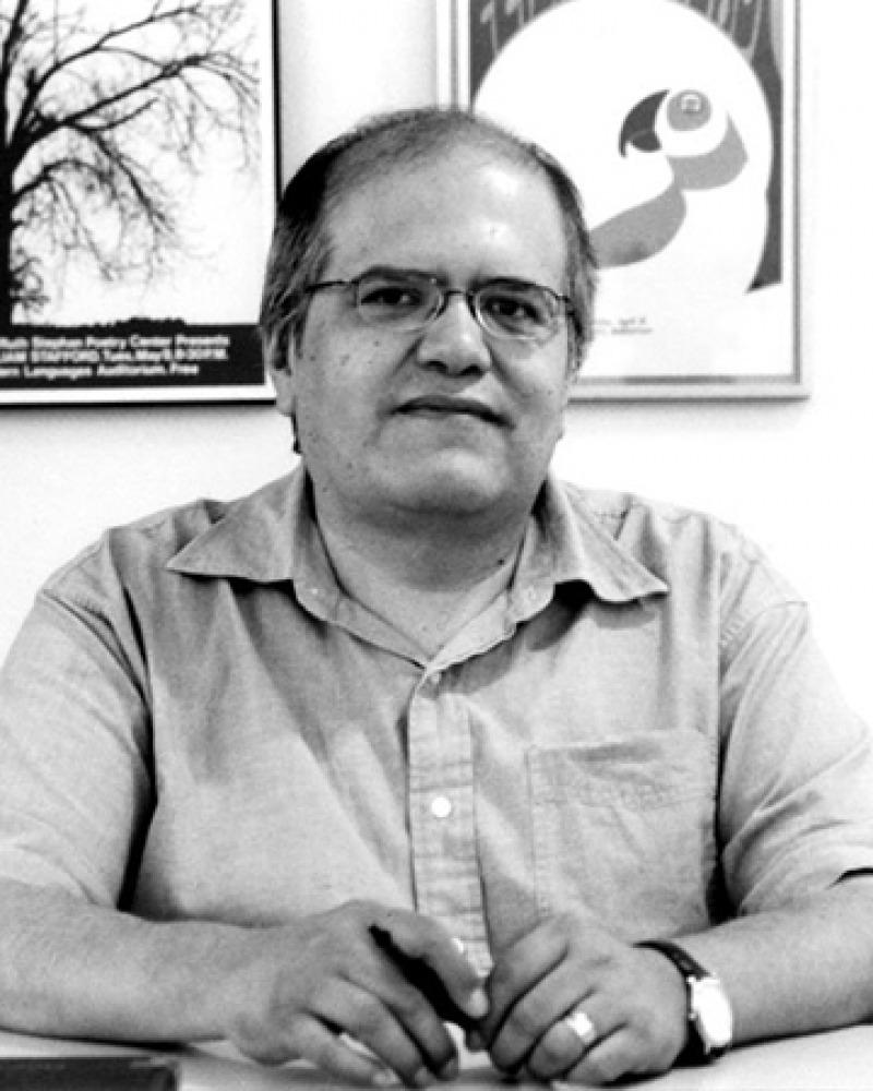 Poet, essayist, and editor Ray Gonzalez.