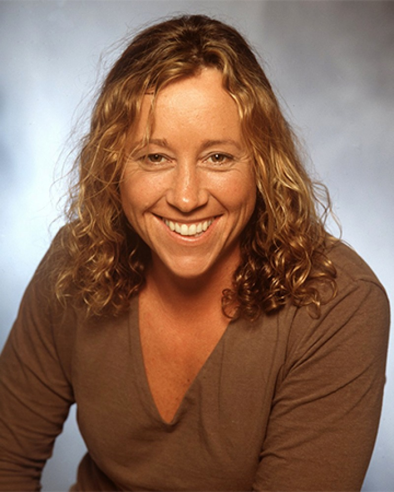 Photograph of Survivor contestant Sue Hawk.