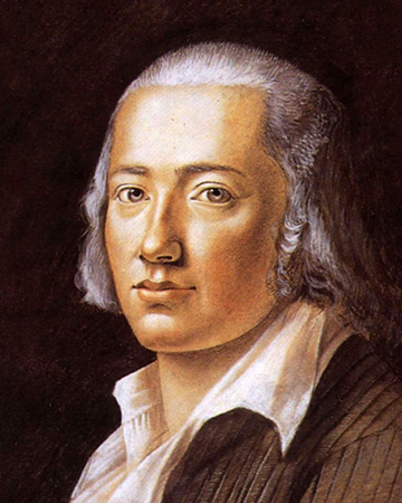 German poet Friedrich Hölderlin.