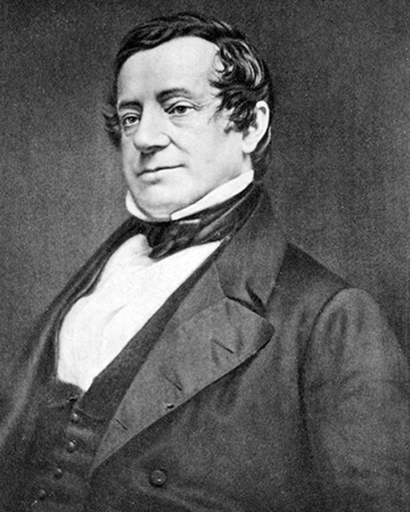 American author Washington Irving.