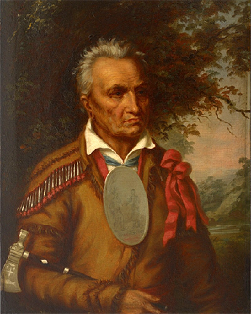 Seneca chief Red Jacket.