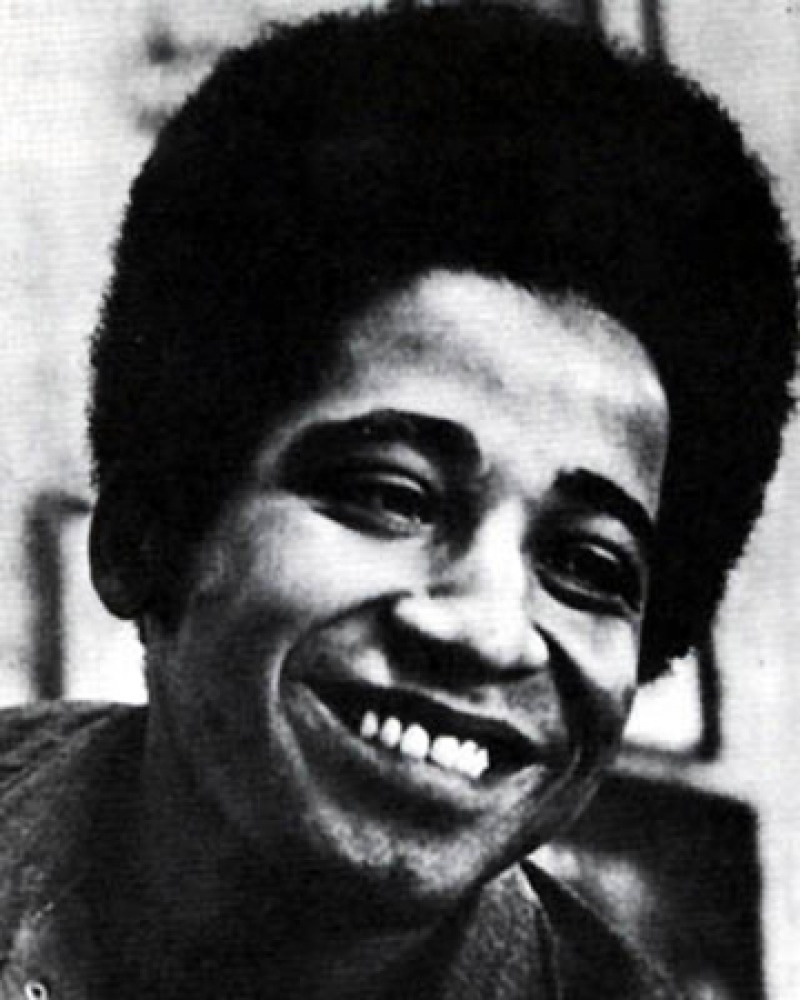 African-American left-wing activist and author George Jackson.