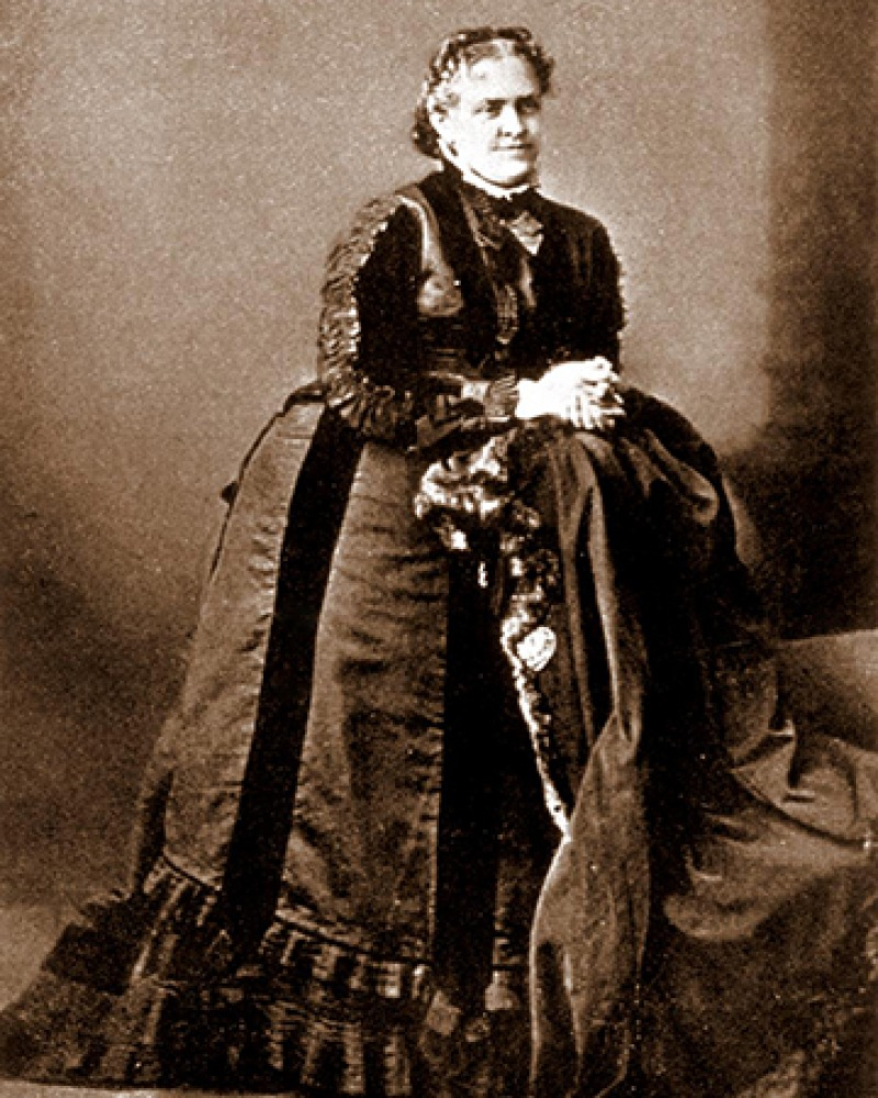 American poet and novelist Helen Hunt Jackson.