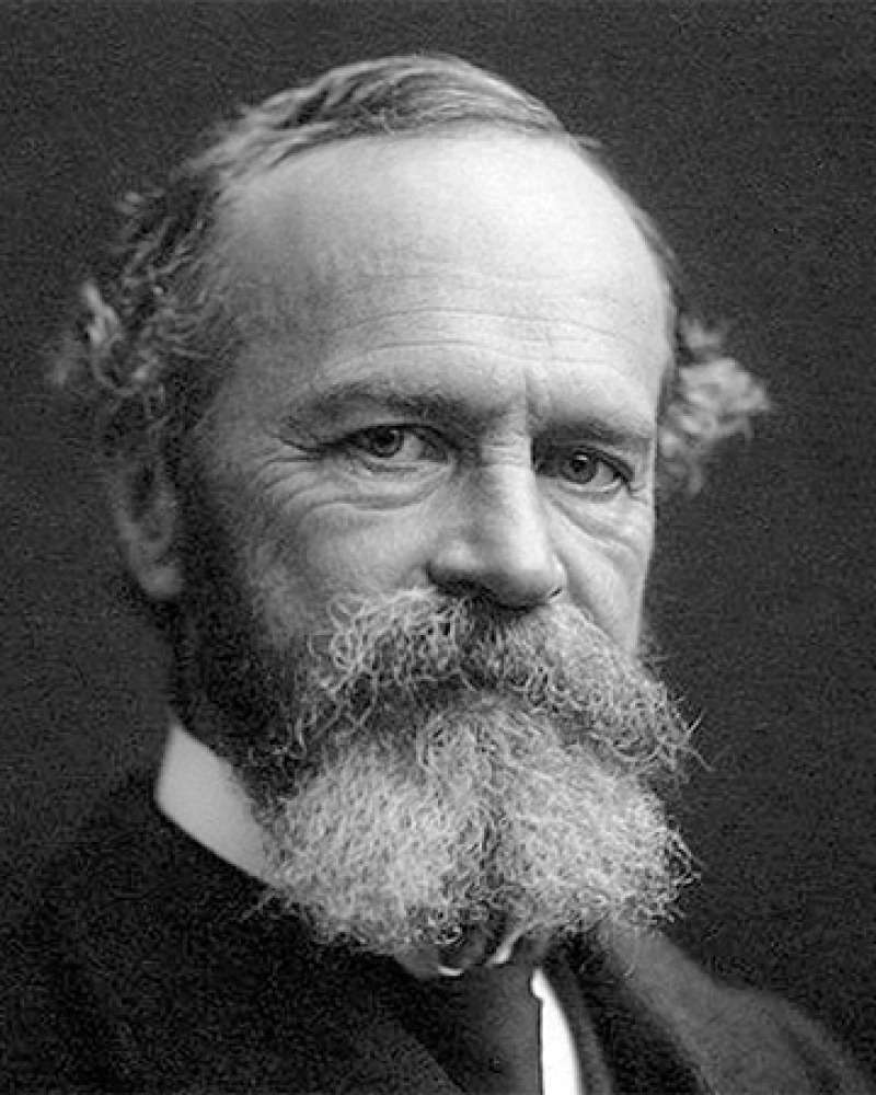American psychologist and philosopher William James.