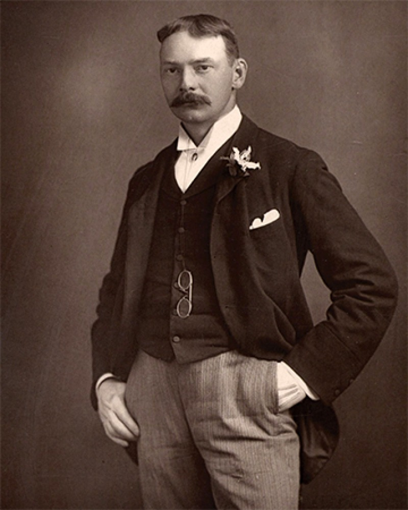 English writer Jerome K. Jerome.