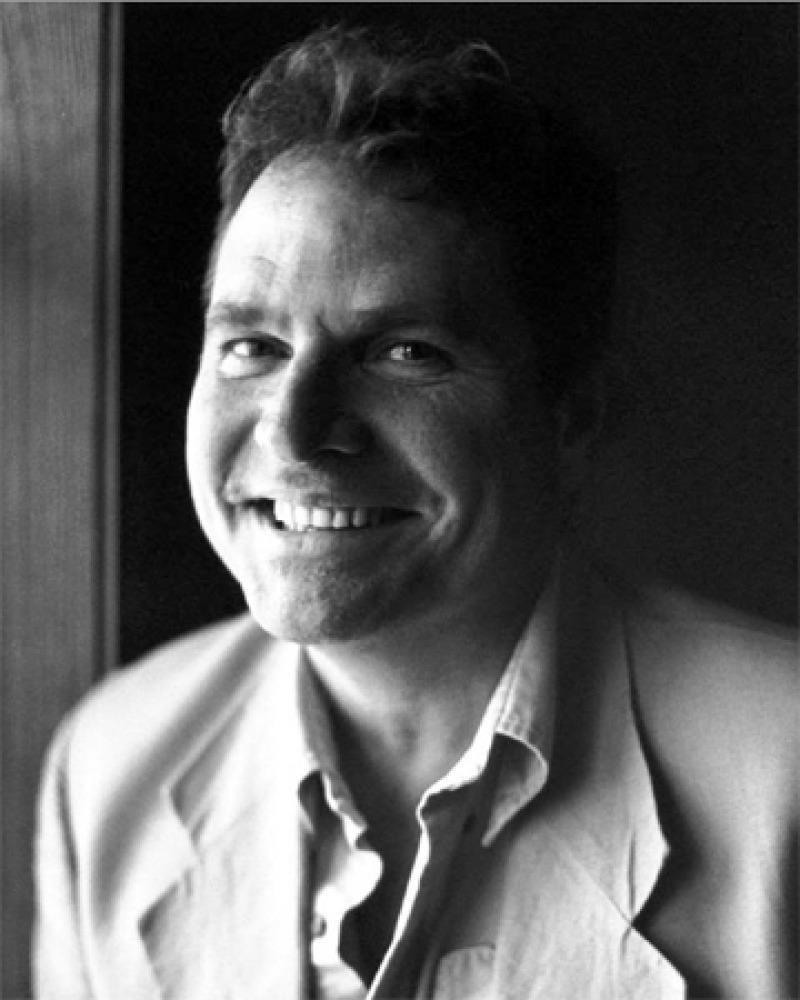 Photograph of American writer Denis Johnson.