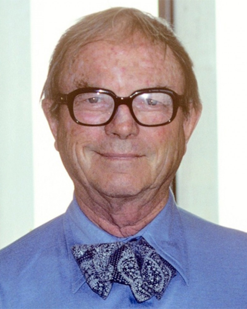 Photograph of American animation director Chuck Jones.
