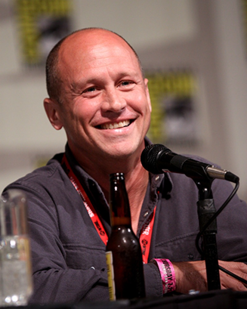 American animator, writer, and director Mike Judge.