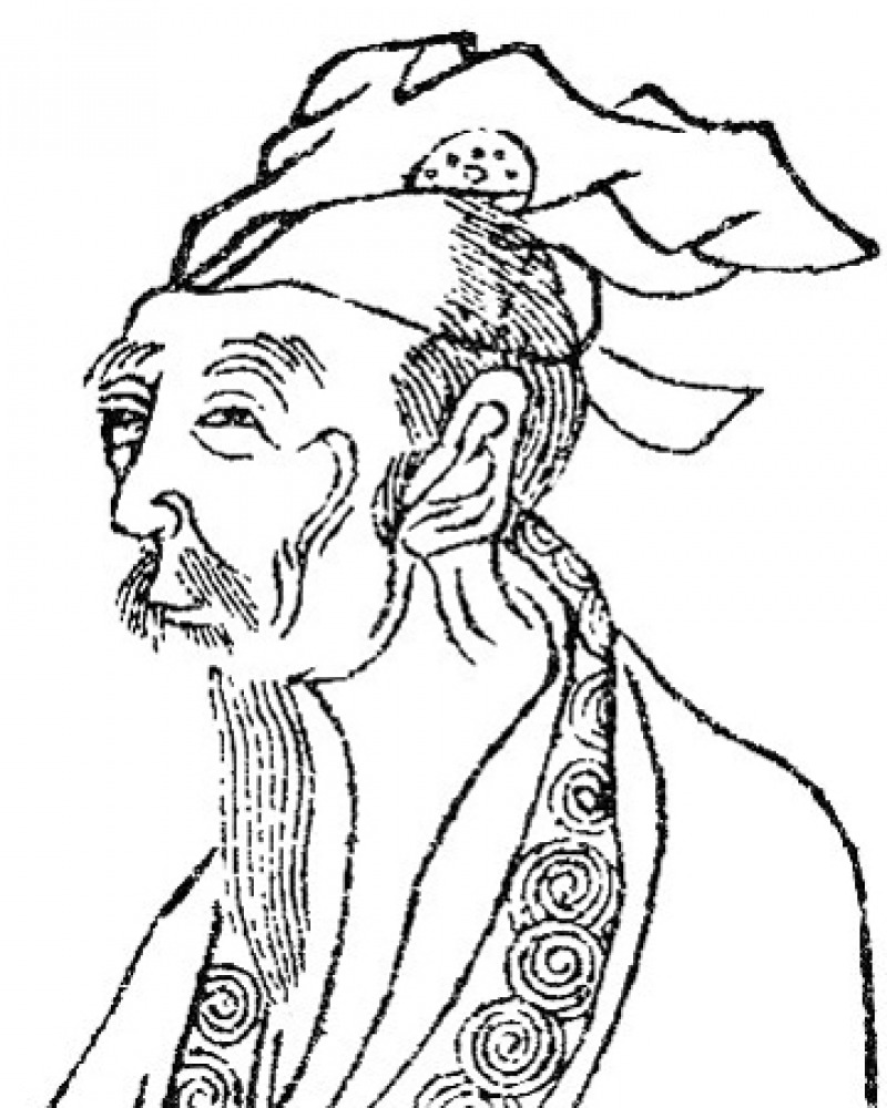 Image of Chinese poet Bai Juyi.