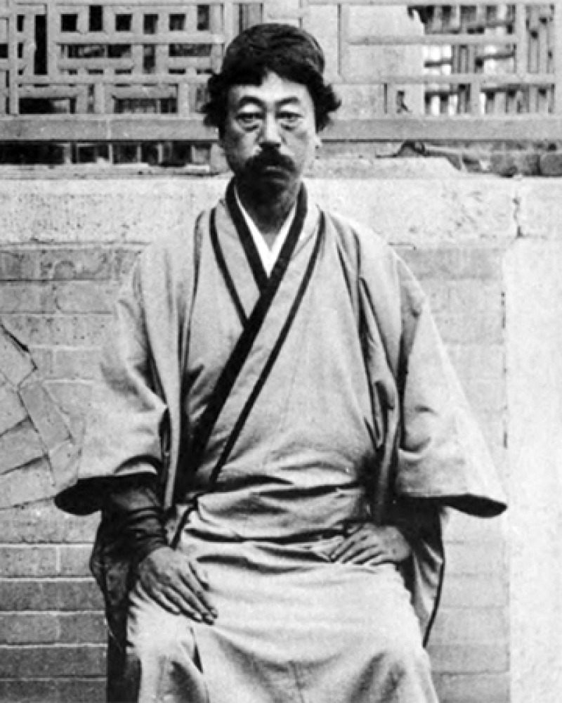 Japanese art critic Okakura Kakuzō.