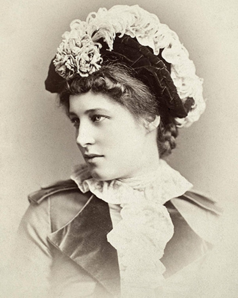British beauty and actress Lillie Langtry.