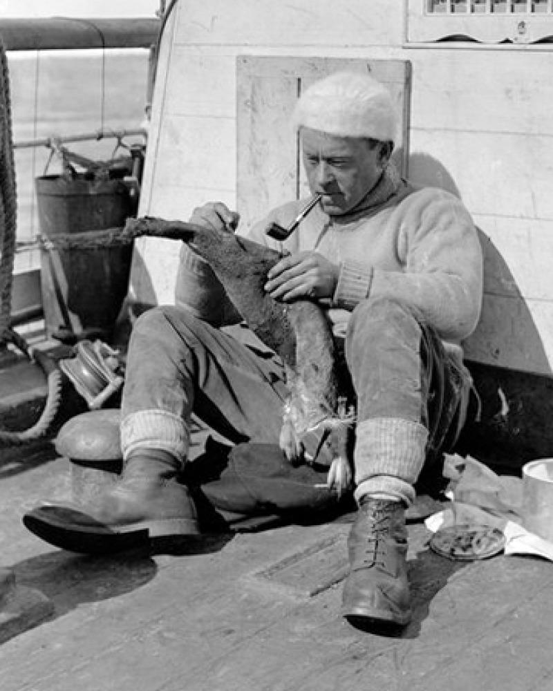 Photograph of British explorer and surgeon G. Murray Levick.